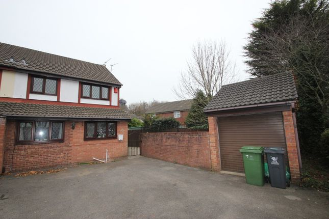 Thumbnail End terrace house to rent in Heritage Park, St Mellons, Cardiff