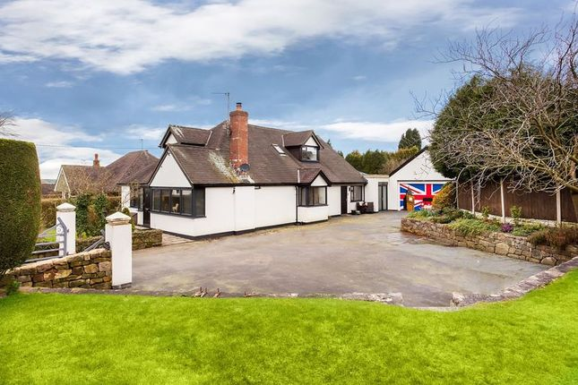 Thumbnail Detached bungalow for sale in Woodhouse Lane, Biddulph Moor, Biddulph