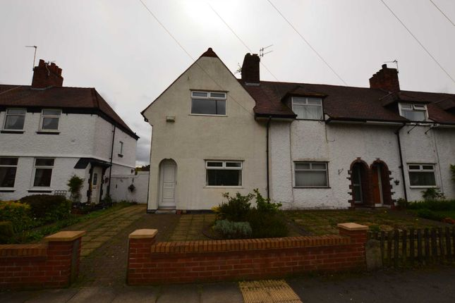 Thumbnail Terraced house to rent in Bolton Road East, New Ferry, Wirral