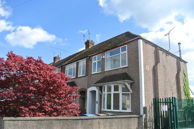 Thumbnail End terrace house to rent in Forfield Road, Coventry