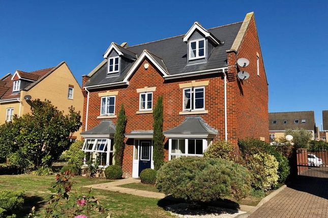 Thumbnail Detached house for sale in Coopers Drive, Dartford