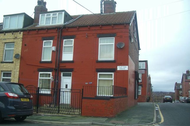 Thumbnail Terraced house to rent in Clifton Grove, Leeds