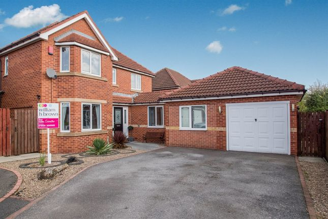 Thumbnail Detached house for sale in Greenwood Close, Worksop