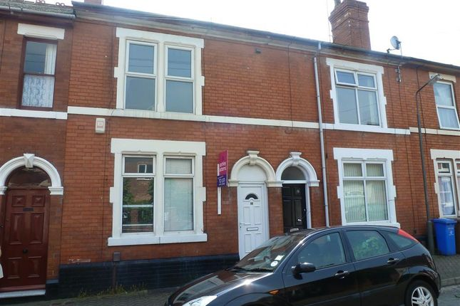 Thumbnail Terraced house to rent in Wolfa Street, Derby