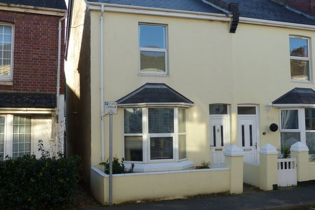 Thumbnail End terrace house to rent in Langs Road, Paignton