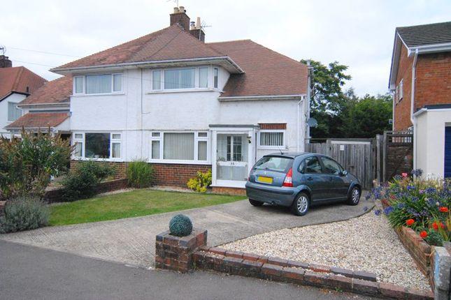 Thumbnail Semi-detached house for sale in Colebridge Avenue, Longlevens, Gloucester
