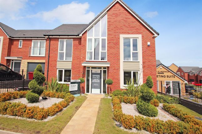 Thumbnail Detached house for sale in Blythe Fields, Blythe Bridge, Staffordshire