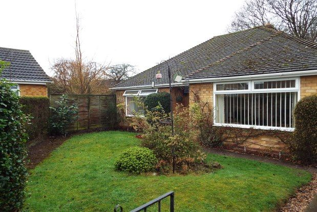 Thumbnail Bungalow to rent in Mallicot Close, Lichfield
