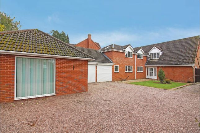 Thumbnail Detached house for sale in The Highfields, Wightwick, Wolverhampton