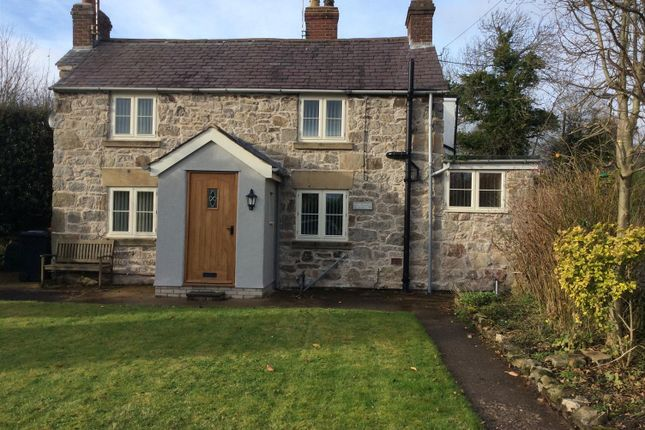 Thumbnail Cottage for sale in Cae Rhug Lane, Gwernaffield, Mold