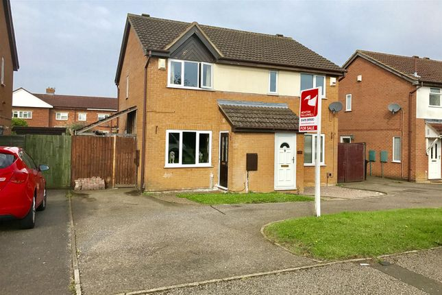 Thumbnail Semi-detached house for sale in Trent Road, Grantham