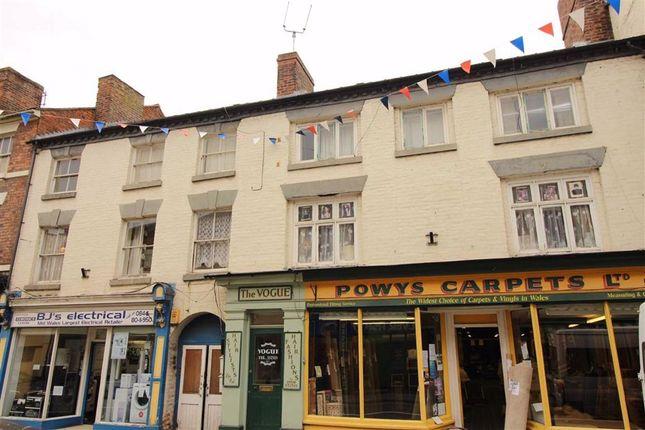 Thumbnail Flat to rent in Flat 2, 16/17, Berriew Street, Welshpool, Welshpool, Powys