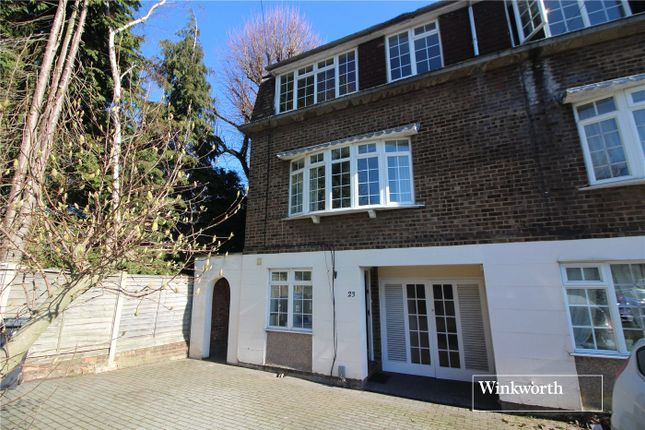 Thumbnail End terrace house to rent in Calshot Way, Enfield