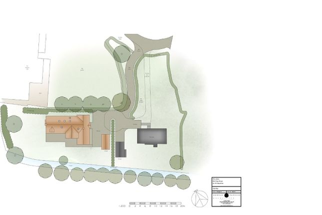 Thumbnail Detached house for sale in Matching Green, Harlow, Essex