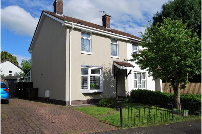 Thumbnail Semi-detached house for sale in River Grove, Dunmurry