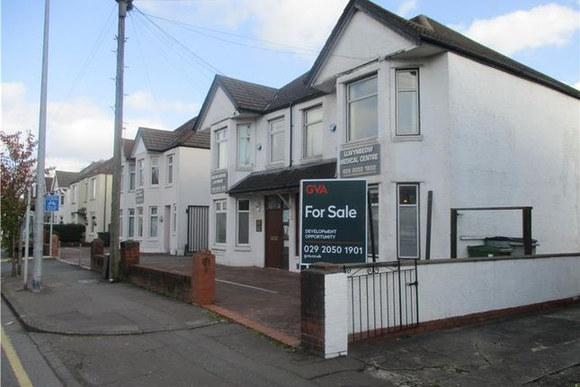 Thumbnail Land for sale in 82-86, Caerphilly Road, Cardiff, Glamorgan, Wales