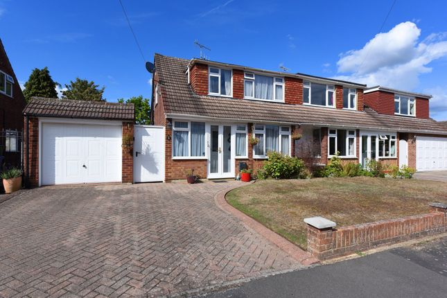 Thumbnail Semi-detached house for sale in Martins Close, Blackwater, Camberley