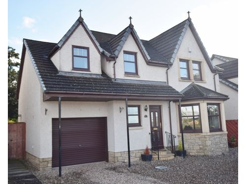 Thumbnail Detached house to rent in Perth Road, Bankfoot