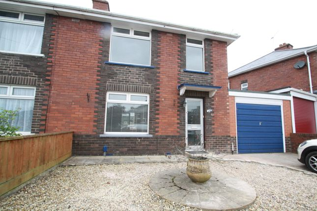 Thumbnail Semi-detached house to rent in Attwyll Avenue, Exeter
