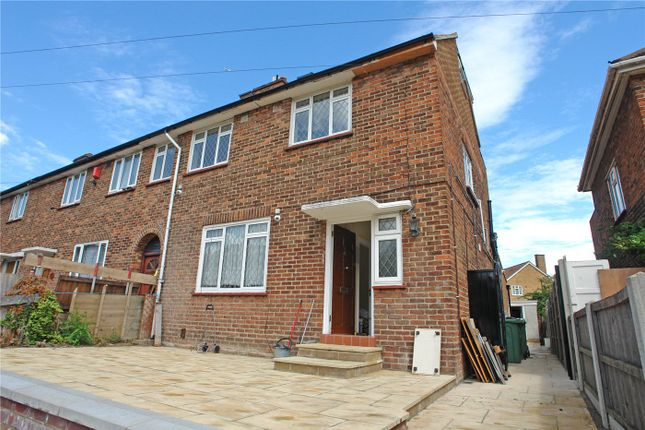 Thumbnail Town house to rent in Dylways, Camberwell, London