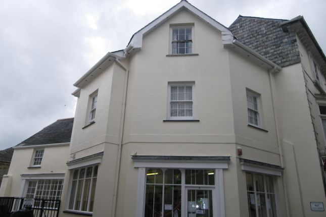 Thumbnail Flat to rent in Church Street, Liskeard