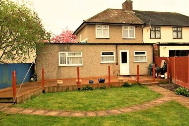 Thumbnail Town house to rent in Fanshawe Crescent, Dagenham