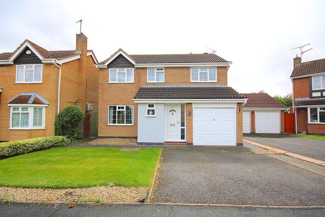 4 bed detached house for sale in Kestrel Close, Leicester Forest East, Leicester LE3