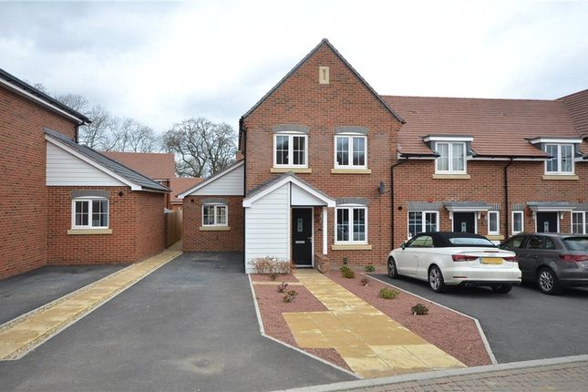 Thumbnail End terrace house for sale in Vaughan Close, Hartley Wintney, Hook