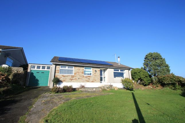 Thumbnail Detached bungalow for sale in Church Lane, Saltash, Cornwall