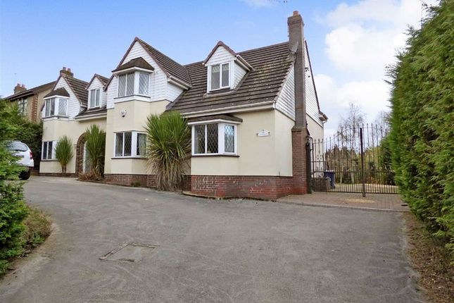 Thumbnail Detached house for sale in Uxbridge Street, Cannock, Staffordshire
