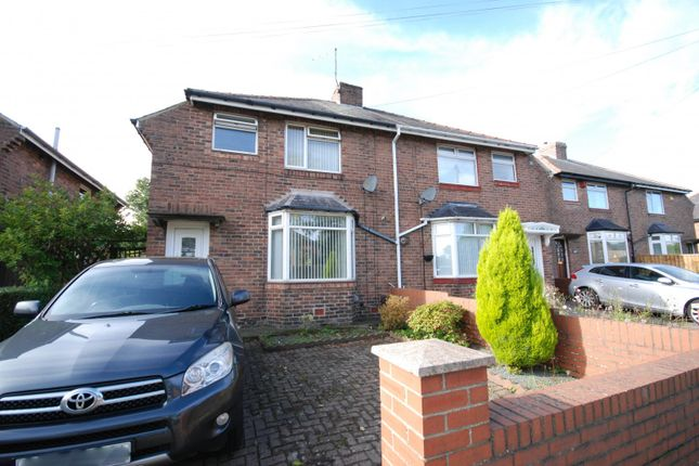 Thumbnail 3 bed semi-detached house for sale in Kenton Road, Gosforth, Newcastle Upon Tyne