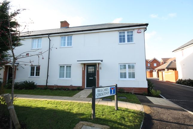 Thumbnail Semi-detached house for sale in Trenchard Lodge, Trenchard Crescent, Springfield, Chelmsford