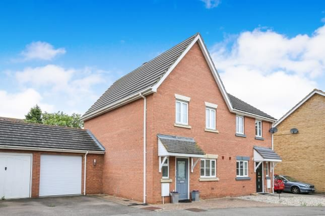 Thumbnail Semi-detached house for sale in Jubilee Close, Henlow, Bedfordshire, England