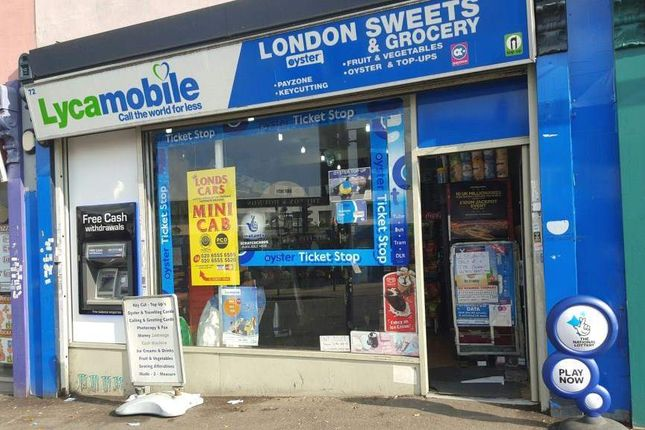 Thumbnail Retail premises for sale in London E7, UK
