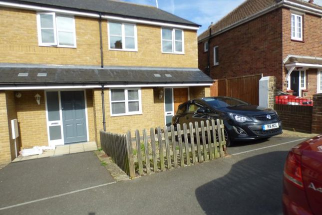 Thumbnail Terraced house to rent in Belmont Road, Westgate-On-Sea
