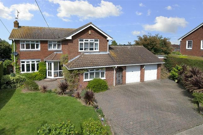 Thumbnail Detached house for sale in Ridgeway Road, Herne, Herne Bay, Kent