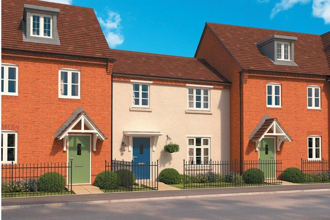 "Thumbnail Terraced house for sale in ""Hartwell"" at Wedgwood Drive, Barlaston, Stoke-On-Trent"
