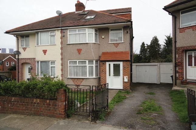 Thumbnail Semi-detached house for sale in Sandown Way, Northolt