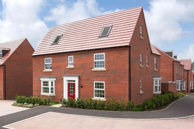 "Thumbnail Detached house for sale in ""Moreton"" at Ada Wright Way, Wigston"