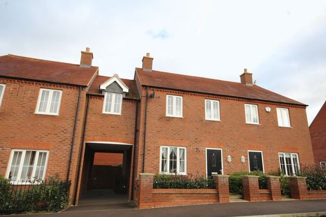 Thumbnail Terraced house to rent in Honeycomb Way, Buckingham