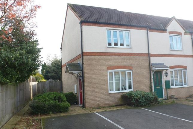Thumbnail End terrace house to rent in Copperfields, Wisbech