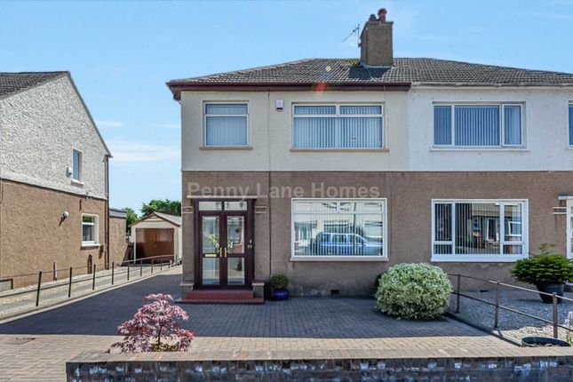 Thumbnail Semi-detached house for sale in Gleniffer Road, Renfrew