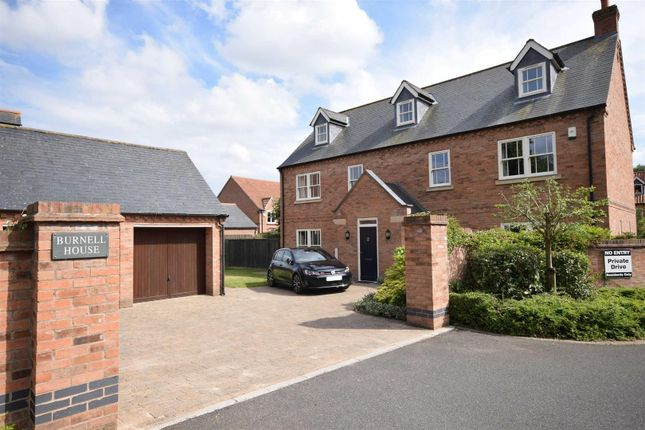 Thumbnail Detached house for sale in The West Lawns, Southwell