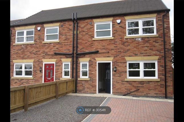 Thumbnail Semi-detached house to rent in Foxglove Close, Scunthorpe