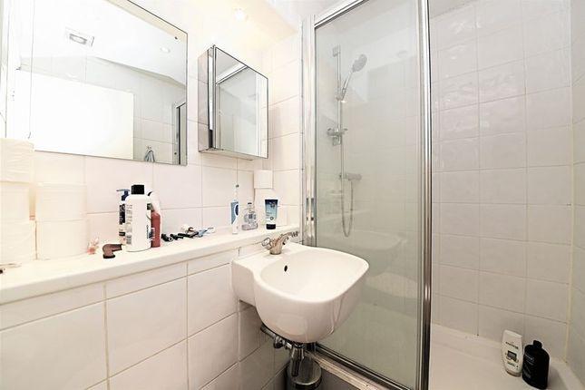 Shower Room of Cavendish Mansions, Clerkenwell Road, London EC1R