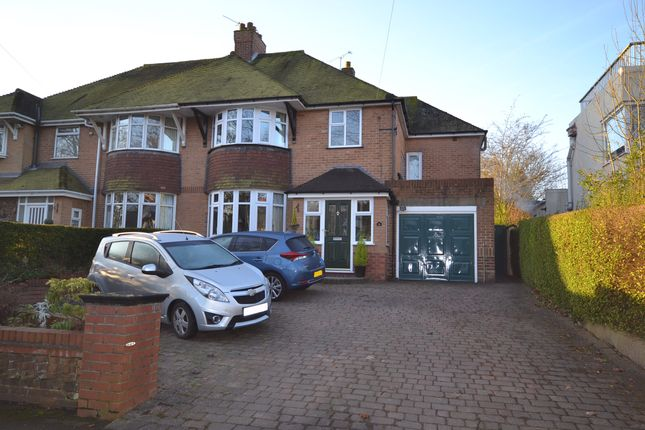 Thumbnail Semi-detached house for sale in Dartmouth Avenue, Newcastle-Under-Lyme