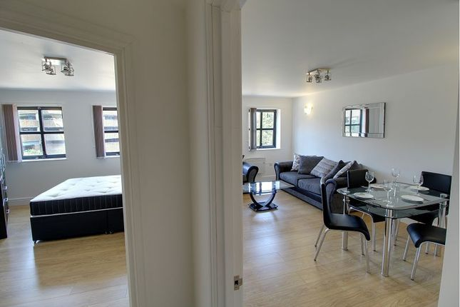 Thumbnail Flat to rent in Frobisher House, Westgate, Peterborough