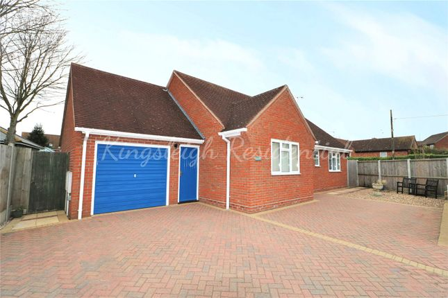 Thumbnail Detached bungalow for sale in Mary Warner Road, Ardleigh, Colchester, Essex