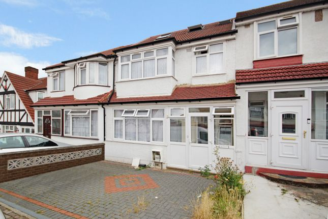 Thumbnail Terraced house to rent in Belmont Avenue, Wembley, Middlesex