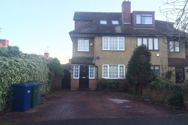 Thumbnail Terraced house to rent in St. Wilfrids Road, Barnet